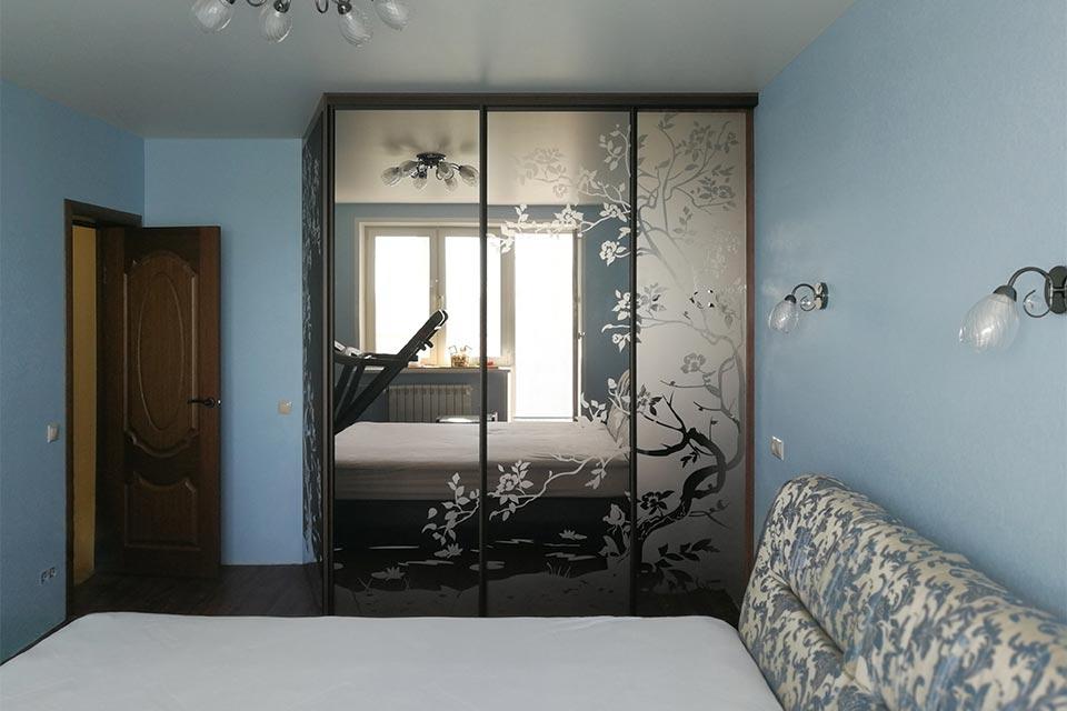 гардеробный шкаф в спальню