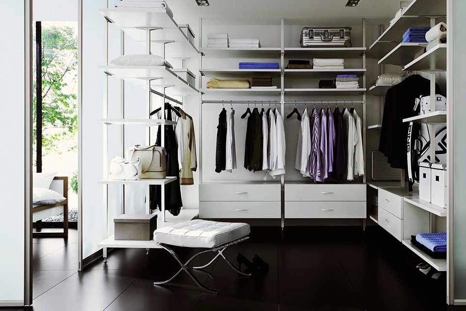 металлическая гардеробная
