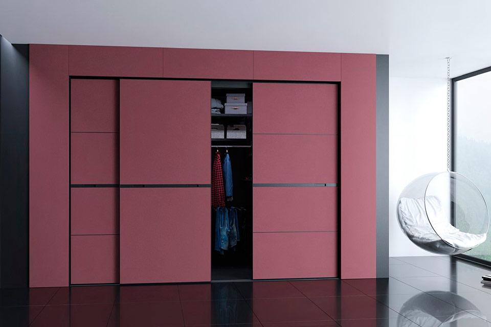 шкаф гардеробная современный