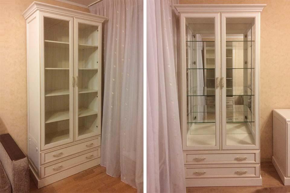 шкаф распашной классика, классические распашные шкафы
