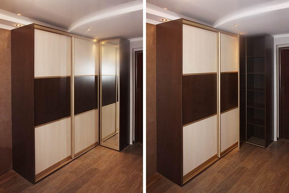 шкаф угловой в комнату