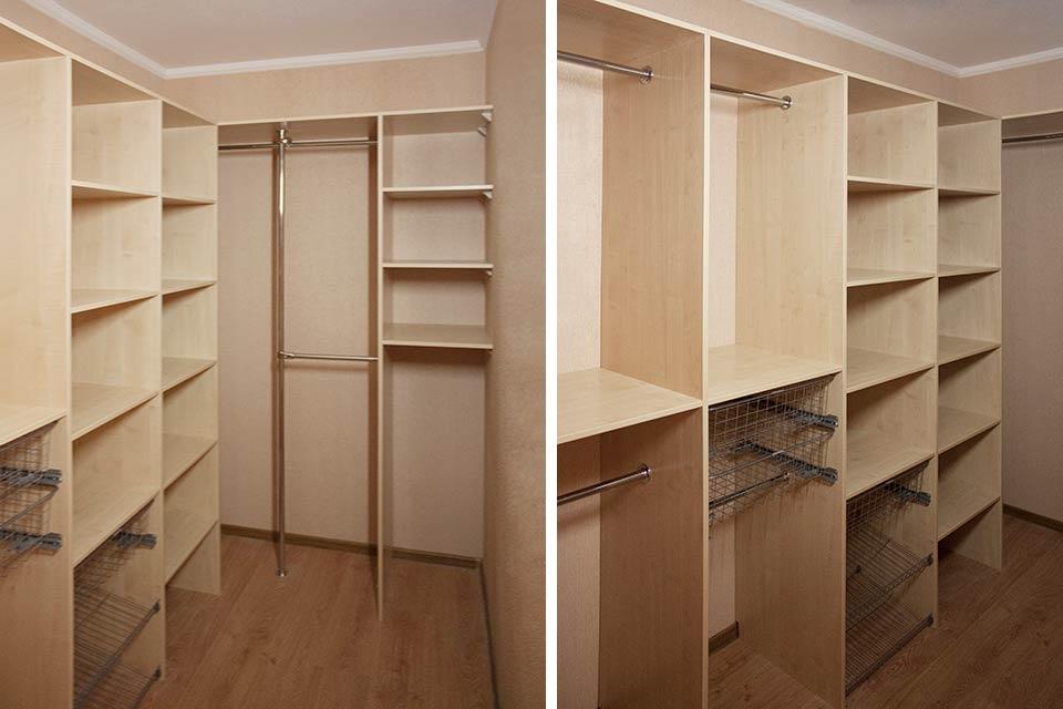 узкая гардеробная 5 кв м