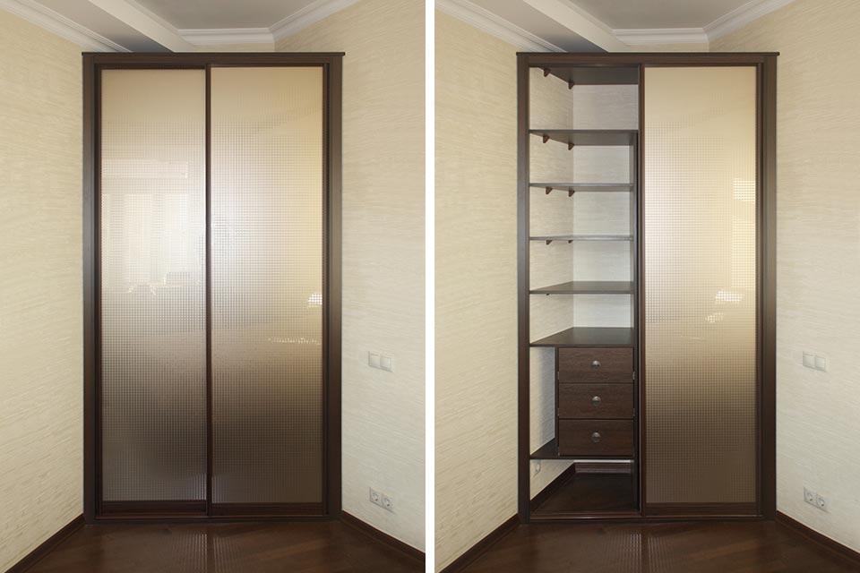 встроенный шкаф в коридор