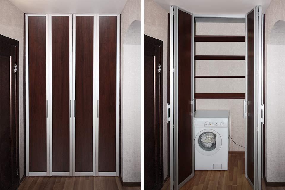 складные двери для шкафа